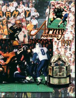 Army Football 1997 Media Guide!