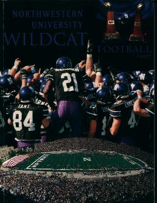 Northwestern  Football Media Guide 1997