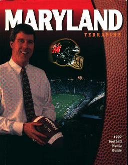 Maryland Terrapins 1997 Football Media Guide!