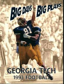Georgia Tech Football 1993!