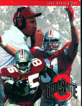 Ohio State 1993 Football Media Guide