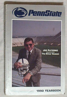 PENN STATE 1990 Football Yearbook/JOE PATERNO