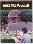 PITT PANTHERS FOOTBALL 1992 Media Guide !!