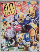 Official Program-Pitt v.Temple 9/14/91