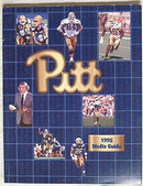 PITT PANTHERS FOOTBALL 1995 Media Guide !!