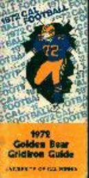 1972 University of Cal Golden Bear Gridiron!