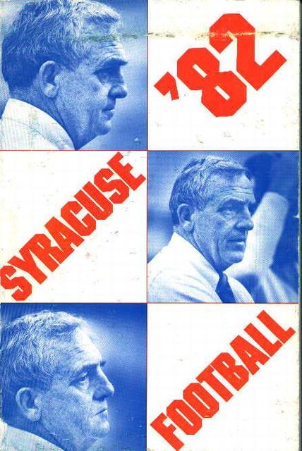 Syracuse Football 1982!