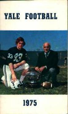 Yale Football Guide for 1975!