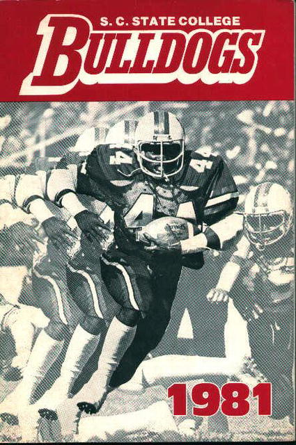 S.C. State Bulldogs Football Guide for 1981!