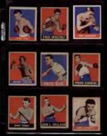9 Great Trading Cards 1948 John L Sullivan,