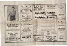Maple Grove Field House 1936 Johnny Birek
