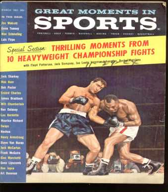 Great Moments in Sports-3/61 10 Boxing Fights