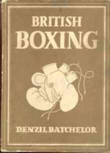British Boxing 1948 D Batchelor illustrated