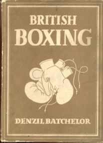 British Boxing 1948 D Batchelor illustrated