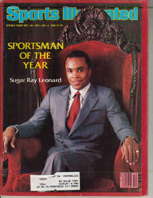 SI Sportsman of Year Sugar Ray Leonard 1981
