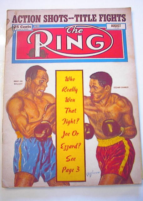 AUGUST 1952 ISSUE THE RING   GREAT ISSUE L@@K