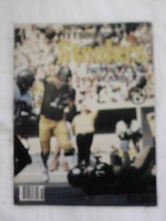1979 PGH STEELERS YEARBOOK BRADSHAW COVER