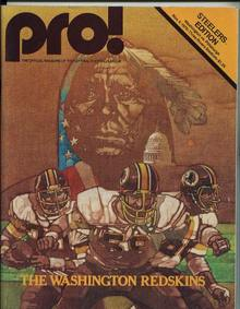 Steelers vs Redskins, 11/4/79