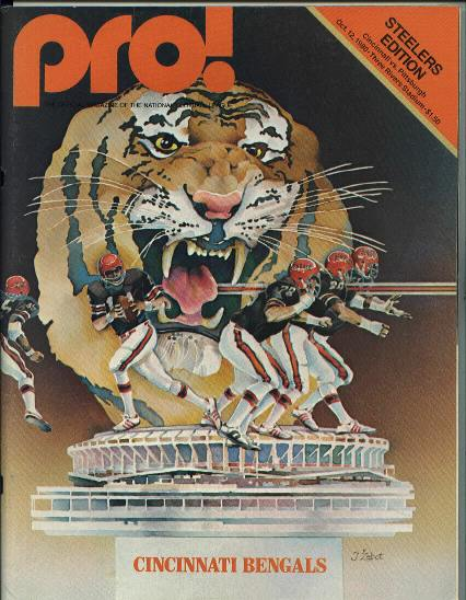 Steelers vs Bengals, 10/12/80