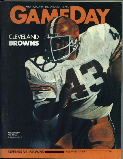 Steelers vs Browns, 1/2/83