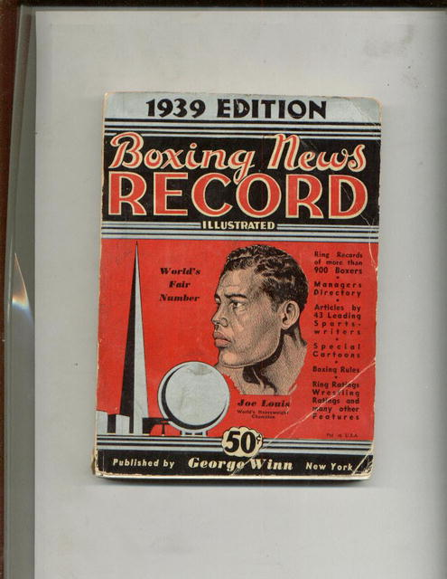 Boxing News Edition - 1939 Edition