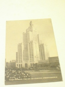 1930's Industrial Trust Building,Providence