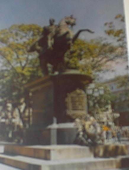 1960's Statue of Simon Bolivar,Plaza Bolivar