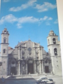 1960's Cunard Line,Columbus Cathedral,Havana