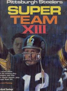 STEELERS SUPERBOWL XIII RECORD ALBUM Mint!