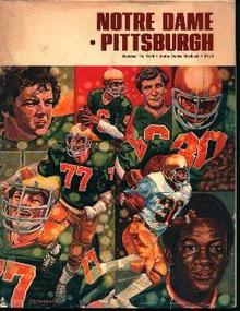 Norte Dame Vs. Pittsburgh 10/14/78!