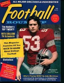 Football Roundup Magazine from 1973!