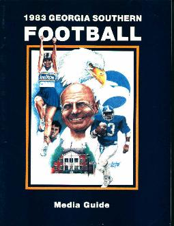 Georgia Southern Media Football Guide 1983