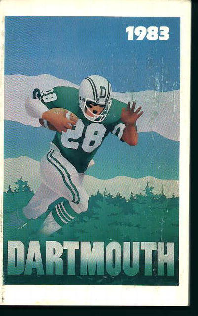 Darmouth Football Guide for 1983!