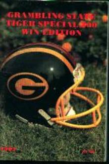 Grambling State Football Guide 1982!
