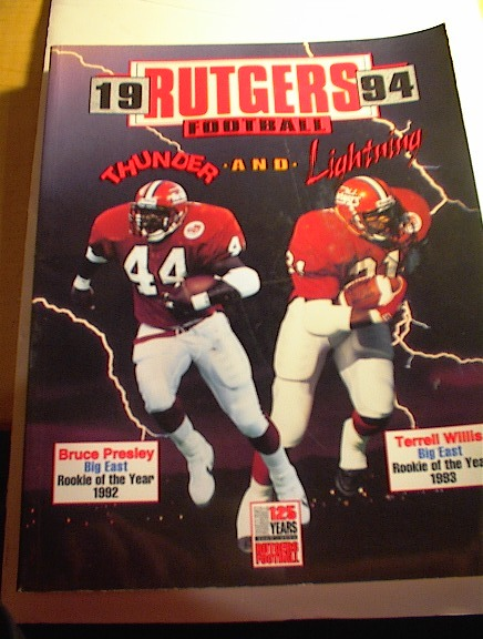 1994 Rutgers Football Thunder and Lightning