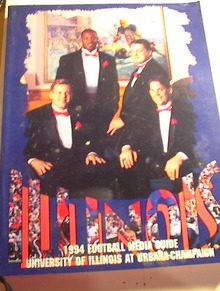 1994 Illinois Football Media Guide