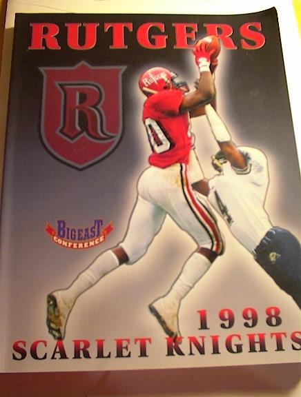 1998 RUTGERS BigEast Conference Media Guide