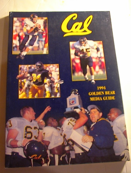 Cal 1994 Golden Bear Media Guide