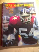 1994 Temple University Football Media Guide