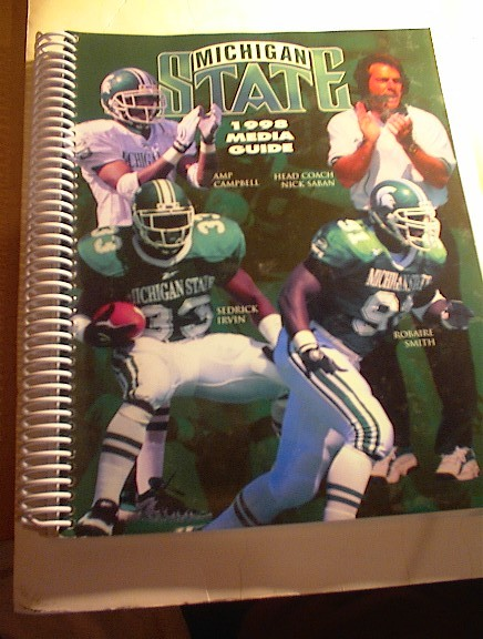 1998 Michigan State Football Media Guide