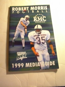 1999 Robert Morris Football Media Guide