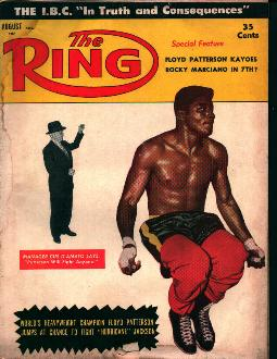 The Ring-8/57 Patterson K.O.'s Marciano?