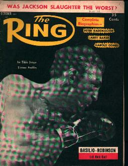 The Ring-10/57- Basilio Robinson Duel!