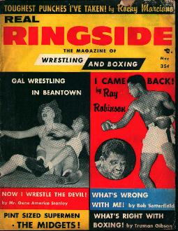 Real Ringside-5/56-Sugar Ray Robinson