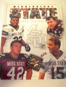 1992 Mississippi State Football Media Guide