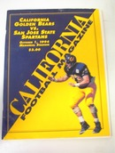 10/1/94 California Golden Bears vs San Jose
