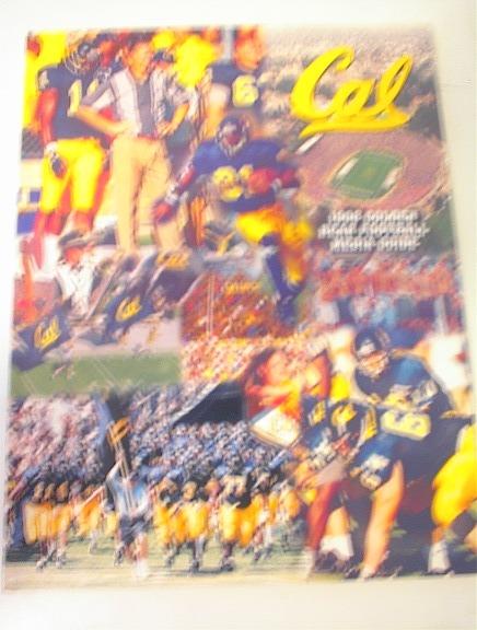1998 Cal Golden Bear Foot Media Guide