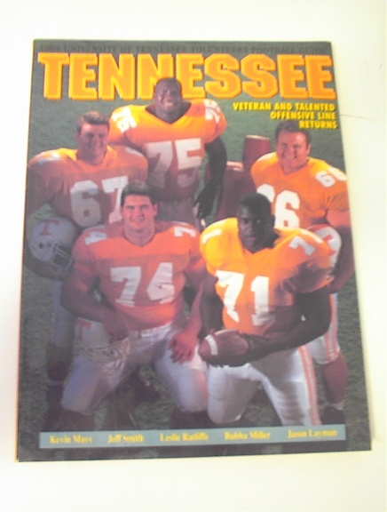 1994 Tennessee Volunteers Football Media Guid