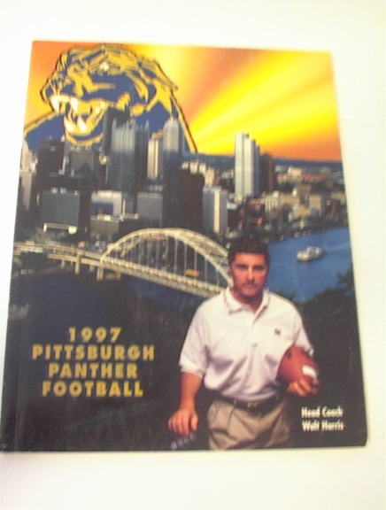 1997 Pittsburgh Panther Football Media Guide