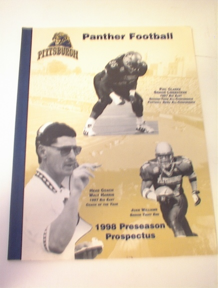 1998 Pittsburgh Panthers Preseason Prospectus